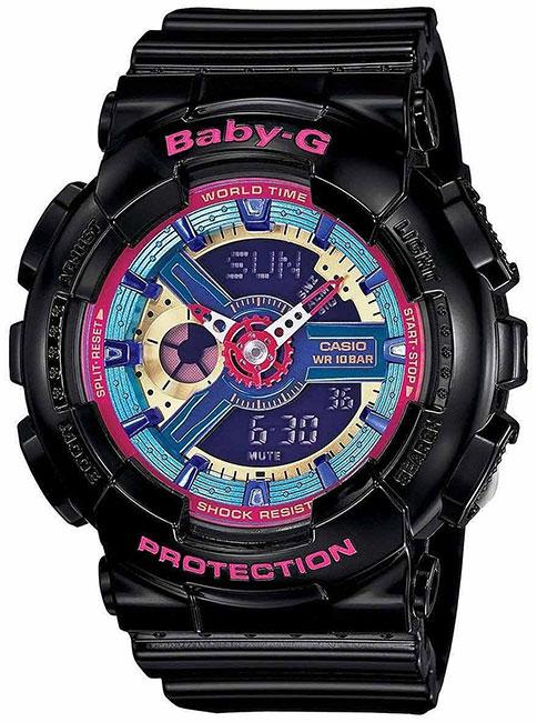 Casio Casio BA-112-1A женские часы casio ba 110tx 1a