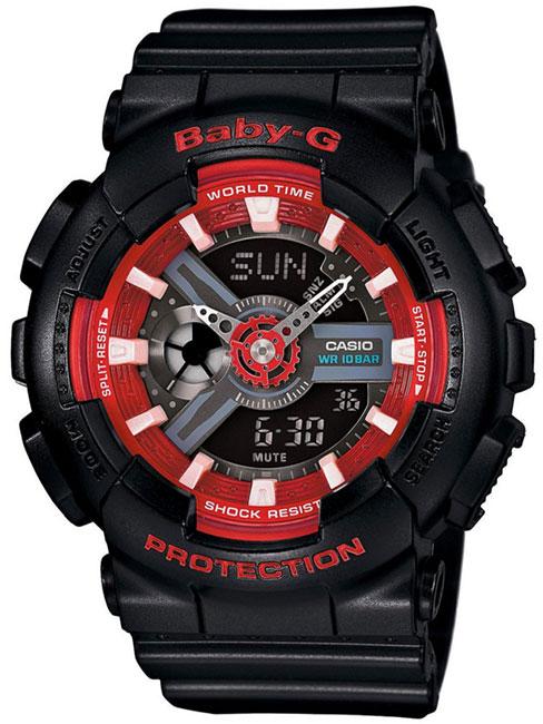 Casio Casio BA-110SN-1A женские часы casio ba 110tx 1a