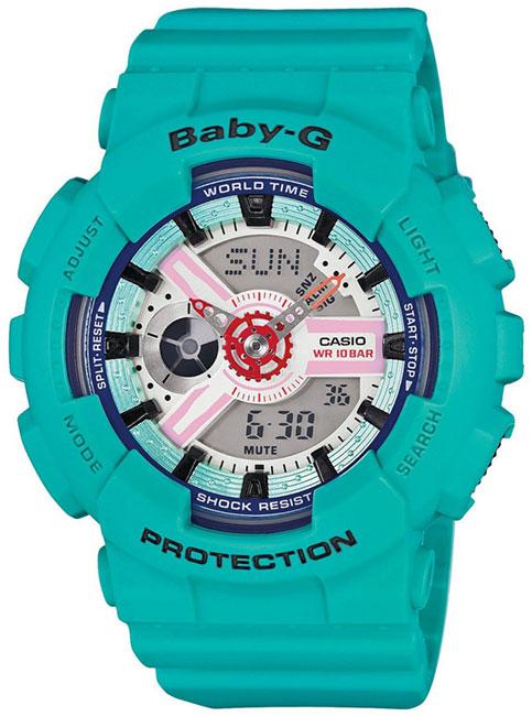 Casio Casio BA-110SN-3A женские часы casio ba 110tx 1a