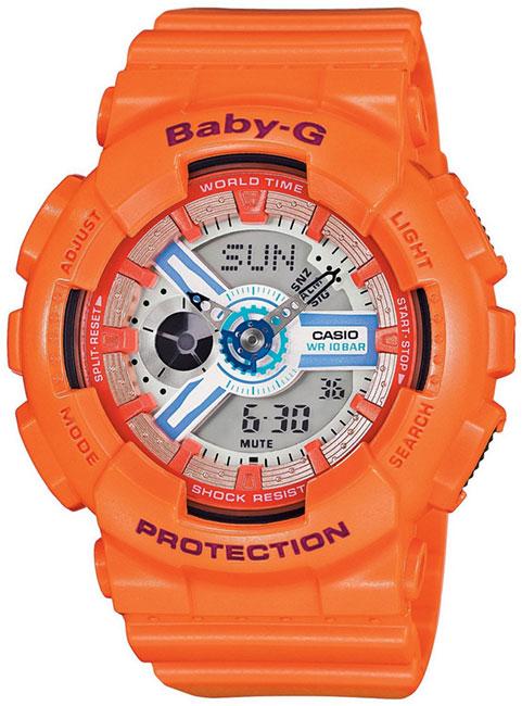 Casio Casio BA-110SN-4A женские часы casio ba 110tx 1a