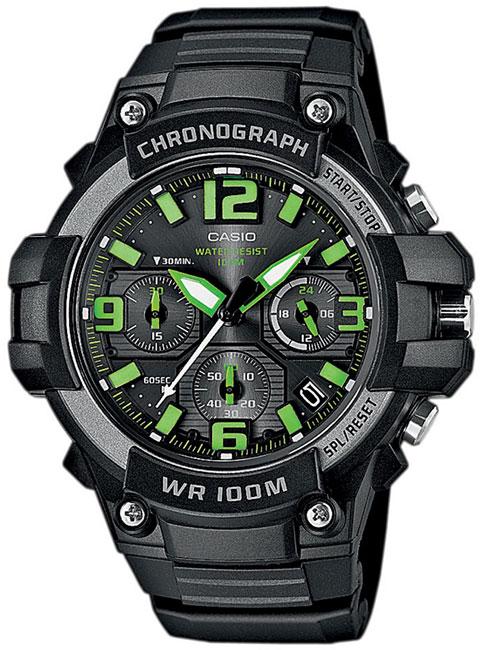 Casio Casio MCW-100H-3A часы casio collection mcw 100h 3a black green