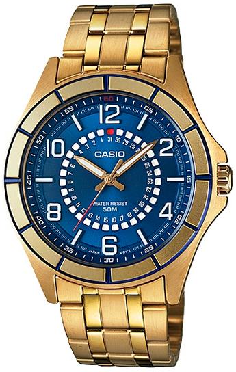 Casio Casio MTF-118G-2A часы casio mtf 118l 7a