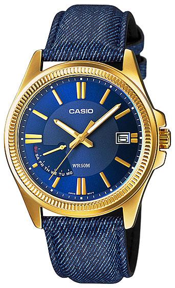 Casio Casio MTP-E115GBL-2A часы casio mtp 1377l 5a
