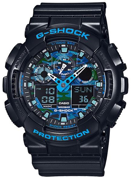 Casio Casio GA-100CB-1A кварцевые часы casio g shock ga 100cb 1a navy