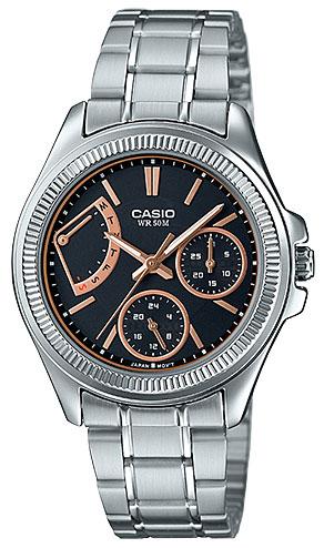 Casio Casio LTP-2089D-1A часы наручные casio часы casio ltp e118g 1a