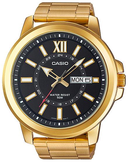 Casio Casio MTP-X100G-1A casio g shock g classic ga 110mb 1a