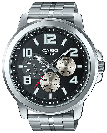 Casio Casio MTP-X300D-1A часы casio mtp 1377l 5a
