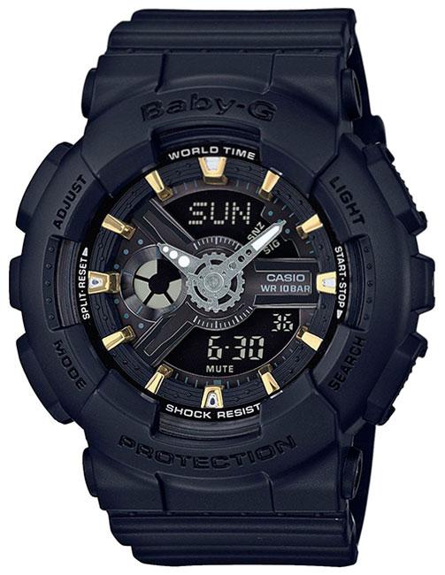 Casio Casio BA-110GA-1A женские часы casio ba 110tx 1a