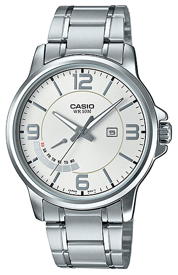 Casio Casio MTP-E124D-7A часы casio mtp e108d 7a