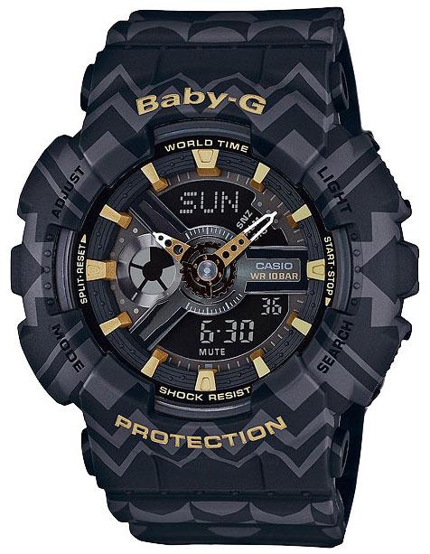 Casio Casio BA-110TP-1A женские часы casio ba 110tx 1a