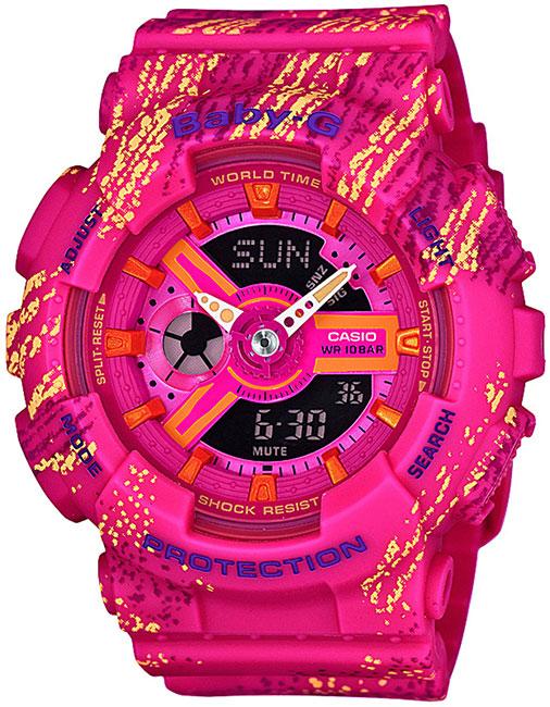 Casio Casio BA-110TX-4A женские часы casio ba 110tx 1a