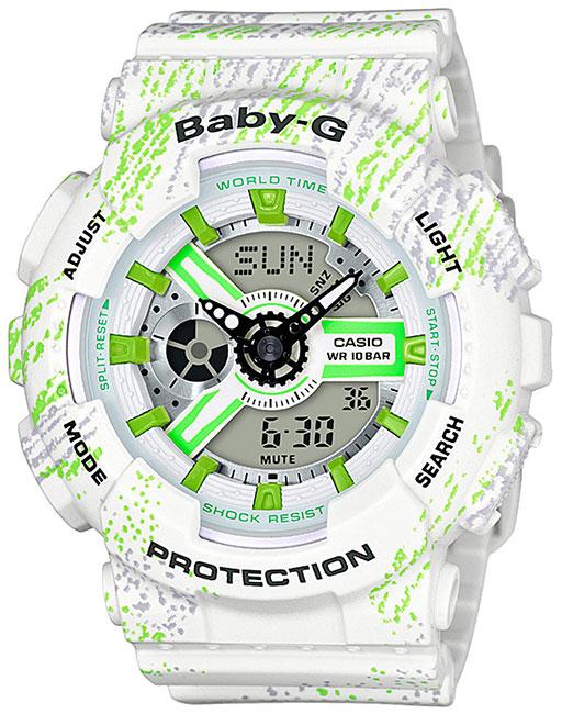 Casio Casio BA-110TX-7A женские часы casio ba 110tx 1a