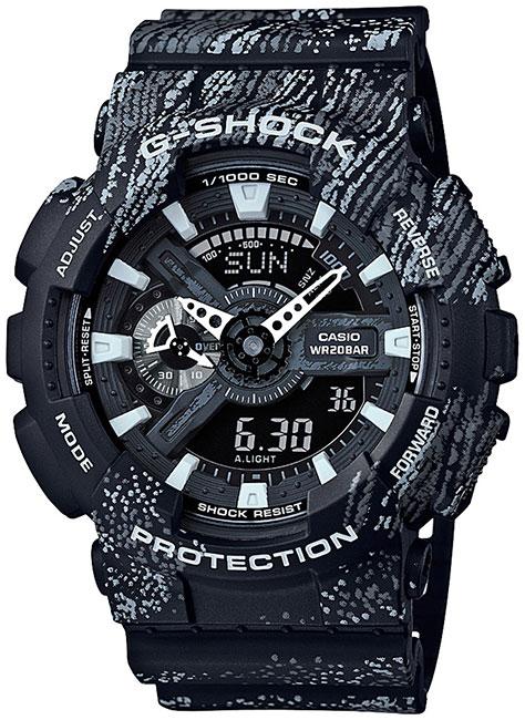 Casio Casio GA-110TX-1A женские часы casio ba 110tx 1a