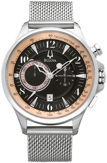 Bulova Мужские американские наручные часы Bulova 96B139