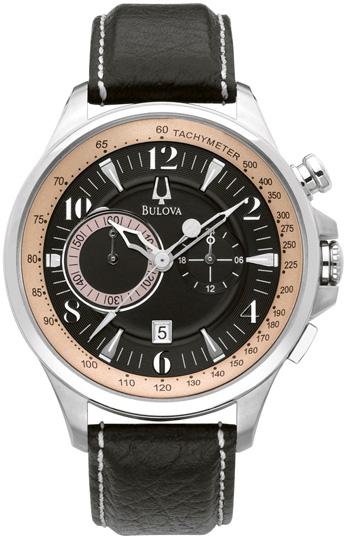 Bulova Мужские американские наручные часы Bulova 96B141