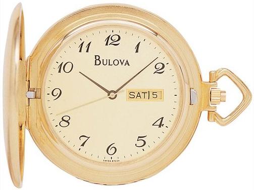 Bulova Американские карманные часы Bulova 97C24