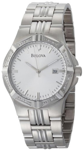 Bulova Мужские американские наручные часы Bulova 96E107