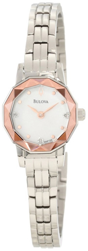 Bulova Женские американские наручные часы Bulova 96P130