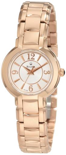 Bulova Женские американские наручные часы Bulova 97L122