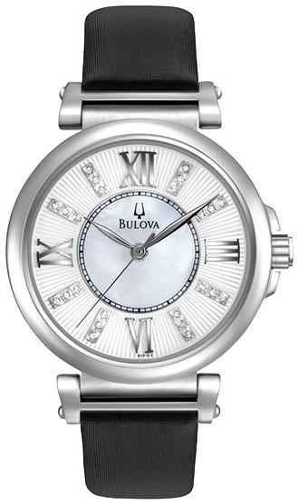 Bulova Женские американские наручные часы Bulova 96P133