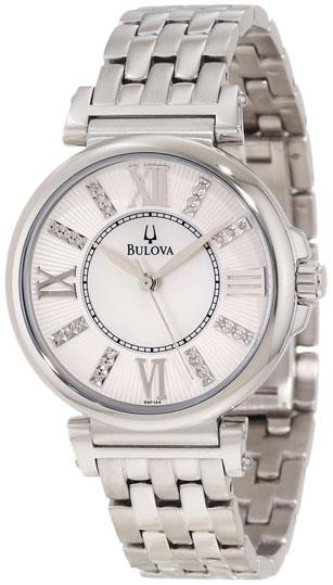 Bulova Женские американские наручные часы Bulova 96P134