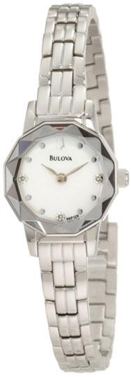 Bulova Женские американские наручные часы Bulova 96P129