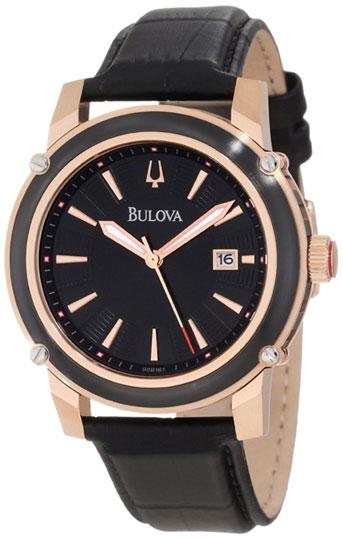 Bulova Мужские американские наручные часы Bulova 98B161