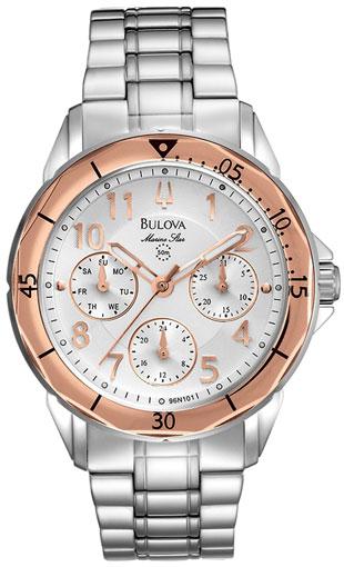 Bulova Женские американские наручные часы Bulova 96N101