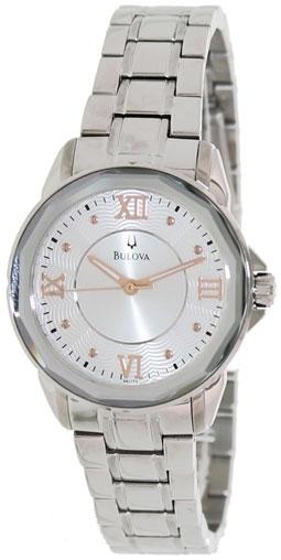 Bulova Женские американские наручные часы Bulova 96L172