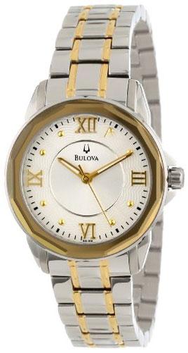 Bulova Женские американские наручные часы Bulova 98L166