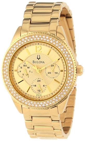 Bulova Женские американские наручные часы Bulova 97N102