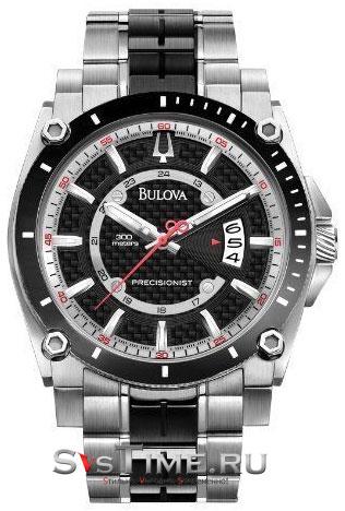 Bulova Мужские американские наручные часы Bulova 98B180