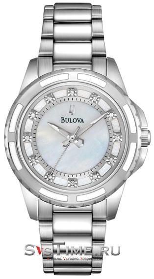Bulova Женские американские наручные часы Bulova 96P144