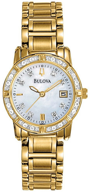 Bulova Женские американские наручные часы Bulova 98R165