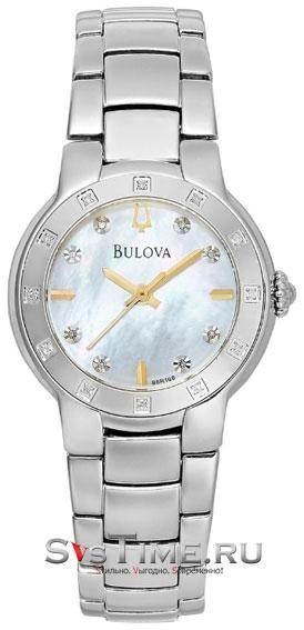 Bulova Женские американские наручные часы Bulova 96R173