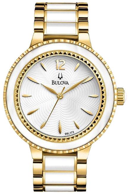 Bulova Женские американские наручные часы Bulova 98L173