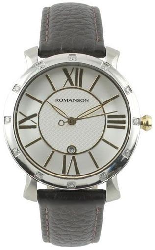 Romanson Romanson TL 1256Q LC(WH) romanson женские наручные часы rn0391ql1gas1g
