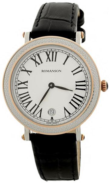 Romanson Romanson RL 1253 LJ(WH)BK romanson женские наручные часы rn0391ql1gas1g