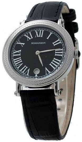 Romanson Romanson RL 1253B LW(BK)BK romanson женские наручные часы rn0391ql1gas1g