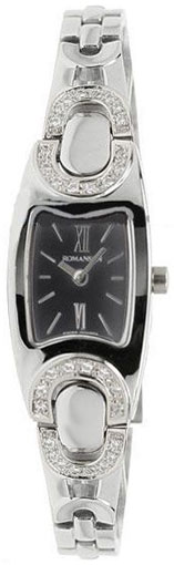 Romanson Romanson RM 9240Q LW(BK) romanson женские наручные часы rn0391ql1gas1g