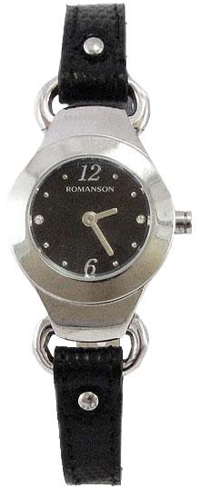 Romanson Romanson RN 2633 LW(BK)BK наручные часы romanson tl2617mw bk bk