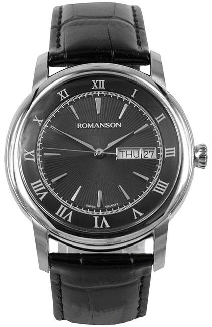 Romanson Romanson TL 2616 MW(BK)BK наручные часы romanson tl2617mw bk bk