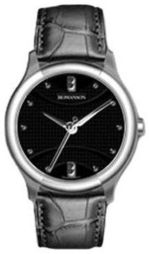 Romanson Romanson TL 1213 LW(BK) romanson женские наручные часы rn0391ql1gas1g