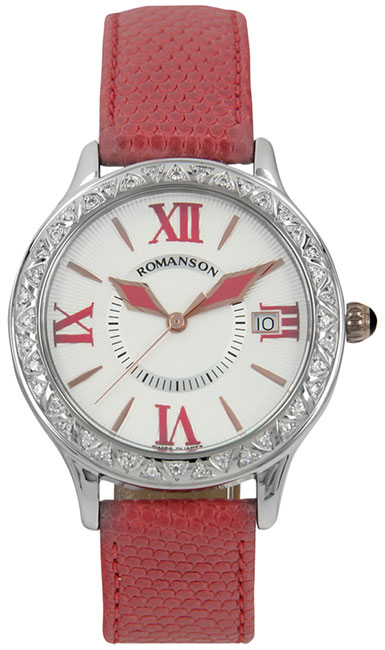 Romanson Женские наручные часы Romanson RL1222QL1JA19R romanson женские наручные часы rn0391ql1gas1g