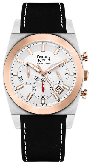 Pierre Ricaud Pierre Ricaud P97021.R213CH мужские часы pierre ricaud p91082 b114q