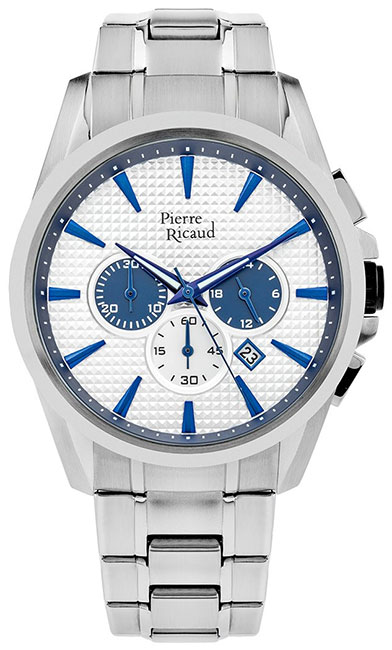 Pierre Ricaud Pierre Ricaud P60017.51B3CH мужские часы pierre ricaud p91082 b114q