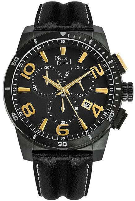 Pierre Ricaud Pierre Ricaud P60016.B254CHY мужские часы pierre ricaud p91082 b114q