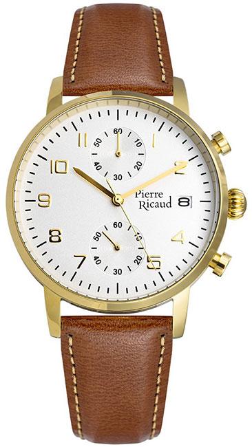 Pierre Ricaud Pierre Ricaud P91088.1223CH мужские часы pierre ricaud p91082 b114q