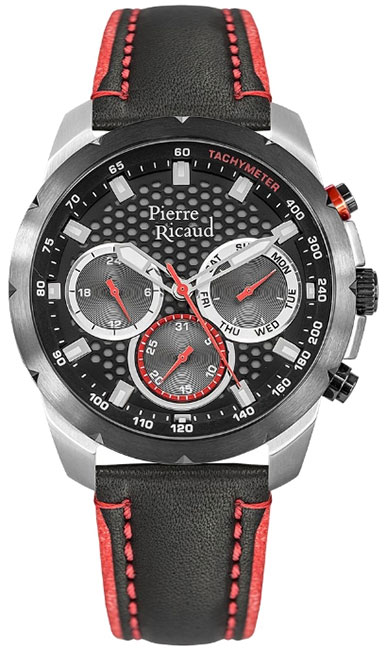 Pierre Ricaud Pierre Ricaud P97210.Y214QFR мужские часы pierre ricaud p91082 b114q