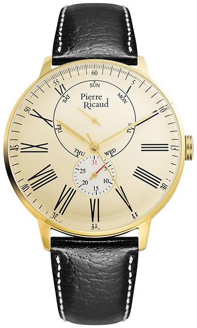 Pierre Ricaud Pierre Ricaud P97219.1231QF мужские часы pierre ricaud p91082 b114q